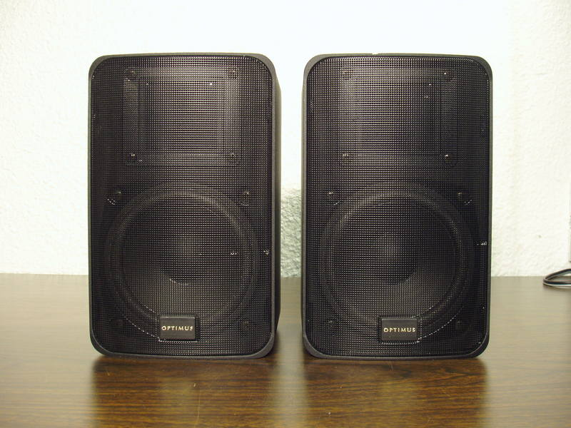 Optimus PRO X88AV Speakers not for sale